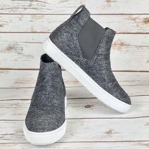 Vince Italian Wool Ankle Sneakers